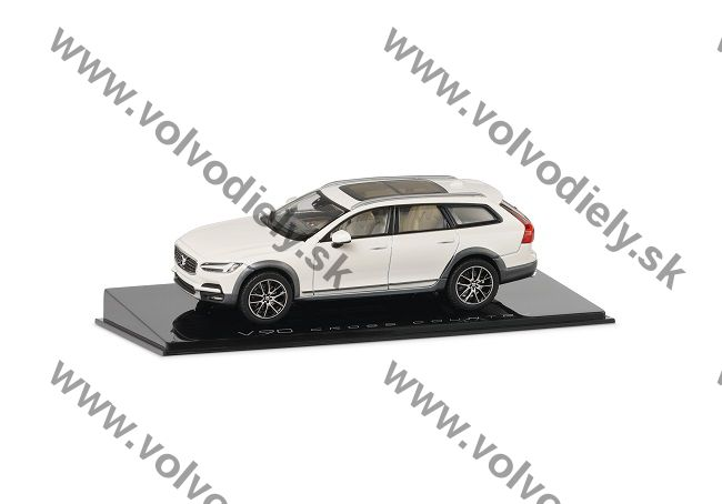 Model V90 Cross Country Crystal White 1:43