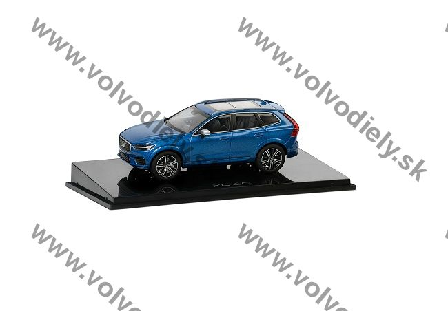 Model XC60 Bursting Blue 1:43